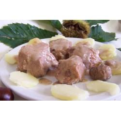 Ragoût de porc aux châtaignes