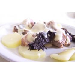 Mitonnade de porc aux deux champignons