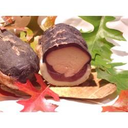 Magret de canard séché et fourré au foie gras