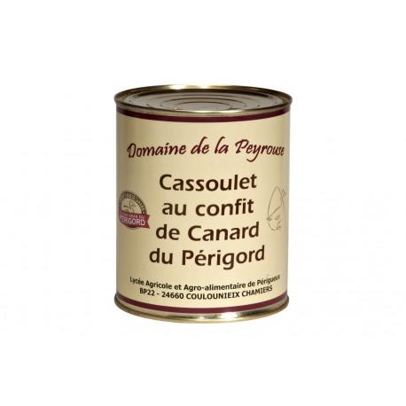 Cassoulet au confit de canard 1600g